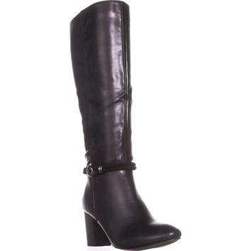 KS35 Galee Mid-Calf Dress Boots, Black, 5 US