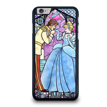 cinderella art glasses disney iphone 6 6s plus case cover  number 1