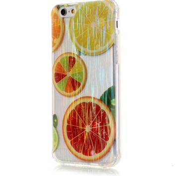 TPU wire drawing orange Phone Case Cover for Apple iPhone 7 7 Plus 5S 5 SE 6 6S 6 Plus 6S Plus + Nice gift box! LJ161006-005