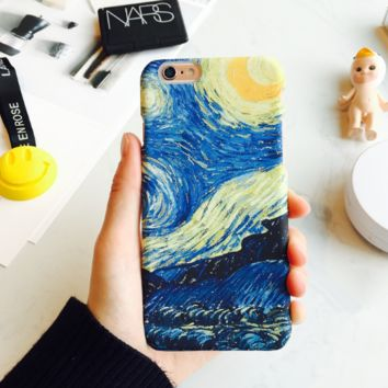 Fashion printing  starry sky plastic Case Cover for Apple iPhone 7 7Plus 6 Plus 6 -171201