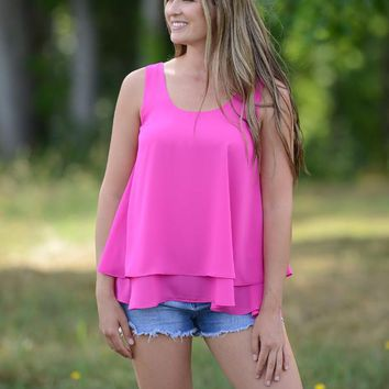 Lightly Layered Tank Top