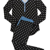 PJ SALVAGE BLACK CHAMBRAY SKI SET