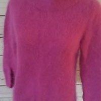 Moth Anthropologie Angora Women's pink Sweater Size S Small