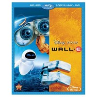 3-Disc WALLE Blu-ray and DVD Combo Pack