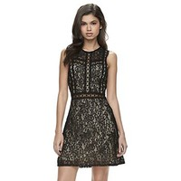 Disney's Beauty and the Beast Juniors' Lace Shift Dress