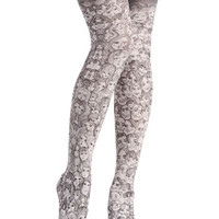 Face the Fashion Tights | Mod Retro Vintage Tights | ModCloth.com