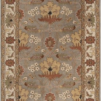 Surya Bungalow BNG5018 Brown/Black Arts and Crafts Area Rug