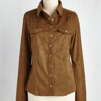 70s Mid-length Long Sleeve Button Down Vancouver and Shaker Top