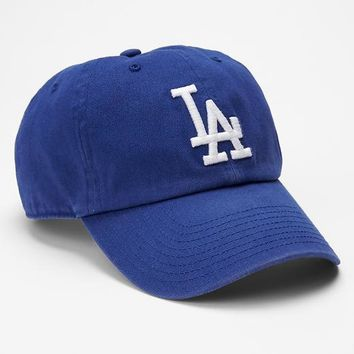 Gap Men LA Dodgers Baseball Hat Size One Size - Blue
