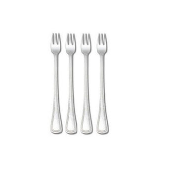Oneida Patrician Silverplate Set of 4 Seafood Forks