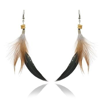 NEW Long Style The Tassel Of The Boho Fashion Boho Large Ethnic Statement Hang Earrings Wedding Earring Accessories