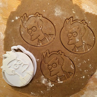 Futurama - Philip J. Fry  cookie cutter
