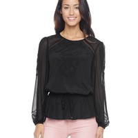 Embroidered Blouse by Juicy Couture