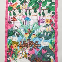Kew Garden Toddler Quilt & Playmat