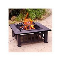 Metal Fire Pit by Alhambra