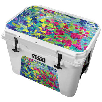 Lilypad Oil Painting Skin for the Yeti Tundra Cooler