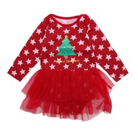 baby girl clothes romper baby clothes Christmas rompers newborn Overalls for children for newborns Baby Clothing YX001 3pcs/lot