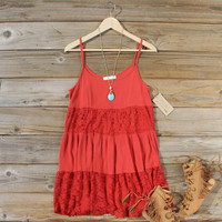 Coyote Sands Dress in Rust