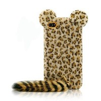 accessoryinlove — Cute Leopard Print iPhone Case with Panther Tail