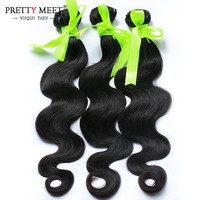 Online Shop Brazilian Virgin Hair Body Wave 3 Bundles 7a Brazilian Body Wave 100% Human Hair Weave Bundles Brazilian Virgin Hair | Aliexpress Mobile