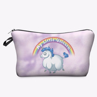 My Little Unicorn Makeup Cosmetics Bag