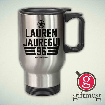 Lauren Jauregui Fifth Harmony 14oz Stainless Steel Travel Mug