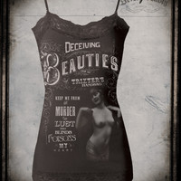 Womens Deceiving Beauties Cami