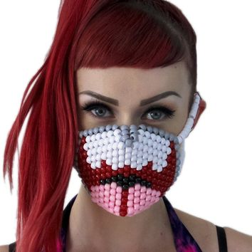 Open Wide Mouth Kandi Mask