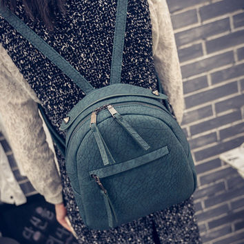College Stylish Back To School Hot Deal Comfort On Sale Korean Casual Mini Backpack [8226770823]