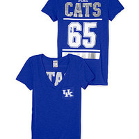 University of Kentucky Bling V-neck Pocket Tee - PINK - Victoria's Secret