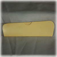 Fuller Brush Comb, Celluloid Comb, Comb Case, French Ivory, Purse Accessory