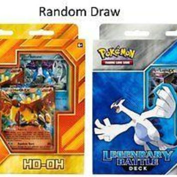 Pokemon TCG Legendary Battle Deck HO-Oh Or Lugia Card Game