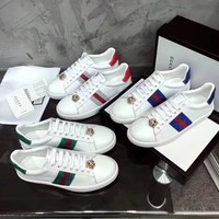 GUCCI  Women Fashion 2020 NEW OFFICE Socks boots Winter Autumn Casual Sneaker sport running shoe best quality white