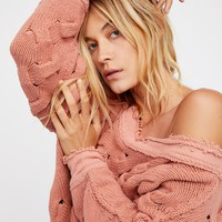 Free People Alluring Sands Pullover
