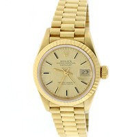 Datejust 26mm automatic-self-wind womens Watch 69178 (Certified Pre-owned)