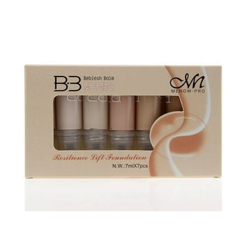 Professional 7 Color Brand Makeup Studio Face Body Foundation Liquid Real Concealer Cream Base Beauty Cosmetic Gift
