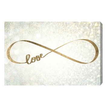 Sparkle Love Canvas