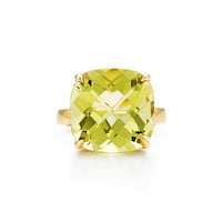 Tiffany & Co. - Tiffany Sparklers:Yellow Citrine<br>Cocktail Ring