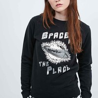 Lulu & Co Space is the Place Sweatshirt in Black - Urban Outfitters
