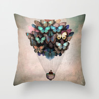 Dream On Throw Pillow by Christian Schloe