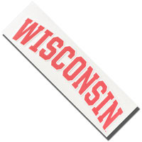 WinCraft Perfect Cut WI Decal (Outside)