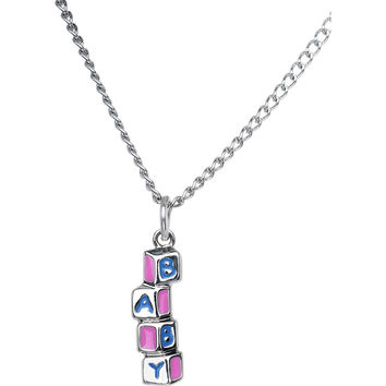 Baby Building Blocks Necklace