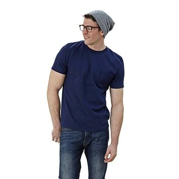 Adult Short Sleeve Crew Neck w/Pocket Modern Fit