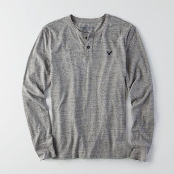 AEO LEGEND LONG SLEEVE HENLEY