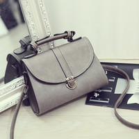 Brand Like Fashion Leather Shoulder Candy Multi Color Bag Female Casual Crossbody Women Messenger Bags Chic Handbag _ 2488