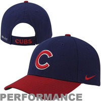 Nike Chicago Cubs Dri-FIT Classic Adjustable Performance Hat - Royal Blue/Red