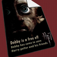 Harry Potter Deathly hallows dobby fcb656c0-a02b-4440-bf43-6dadfa40e89c for Kids Blanket, Fleece Blanket Cute and Awesome Blanket for your bedding, Blanket fleece*NS*