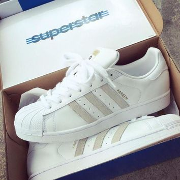 PEAPGE2 Beauty Ticks Adidas Skateboarding Superstar Rt Kareem Campbell - Ftw White