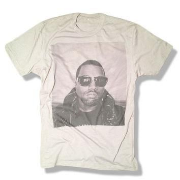 kanye-west-shirt-gray-limited-print-yeezy-jay-z-drake-lil-wayne-hip-hop-top-clothi number 1