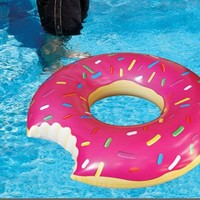 Inflatable Donut Pool Float